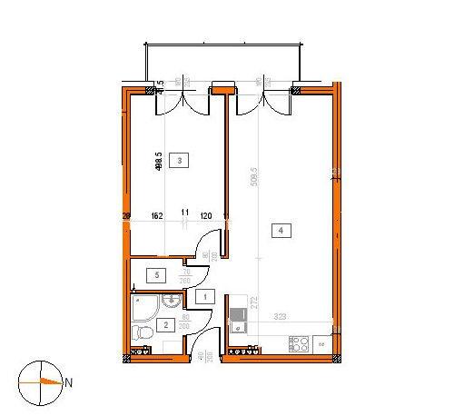 Mieszkanie dwupokojowe na sprzedaż Poznań, Główna, Sucha  49m2 Foto 2