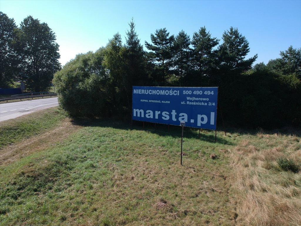 Działka przemysłowo-handlowa pod dzierżawę Reda, Wejherowska  2517m2 Foto 6