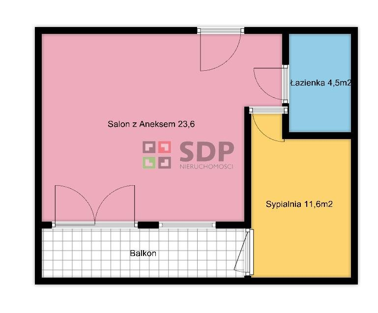 Mieszkanie dwupokojowe na sprzedaż Wrocław, Fabryczna, Grabiszyn  48m2 Foto 1
