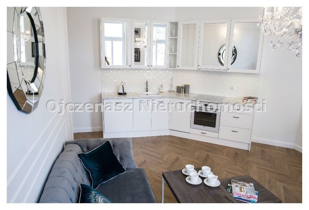 Mieszkanie dwupokojowe na wynajem Bydgoszcz, Centrum  46m2 Foto 5