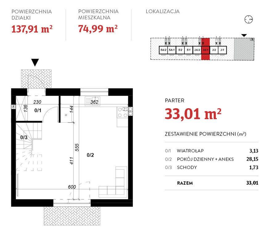 Dom na wynajem Poznań, Grunwald  75m2 Foto 9