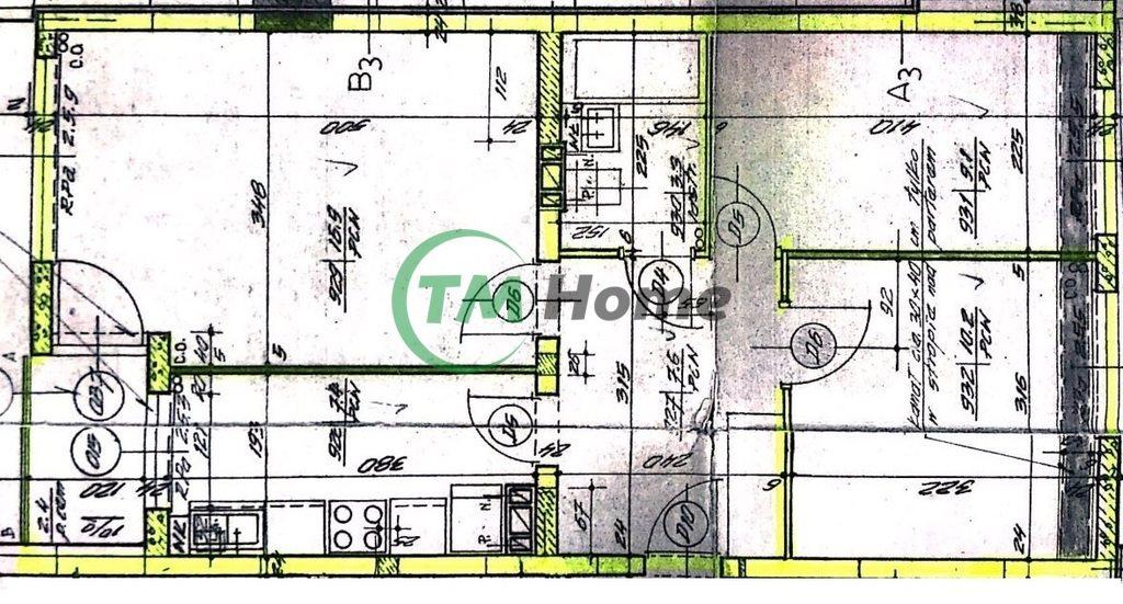 Mieszkanie trzypokojowe na sprzedaż Warszawa, Targówek, Aleksandra Gajkowicza  55m2 Foto 9