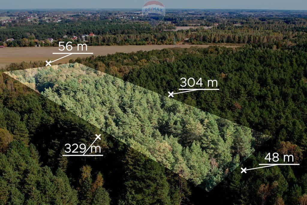 Działka leśna z prawem budowy na sprzedaż Czarnówka  15000m2 Foto 1