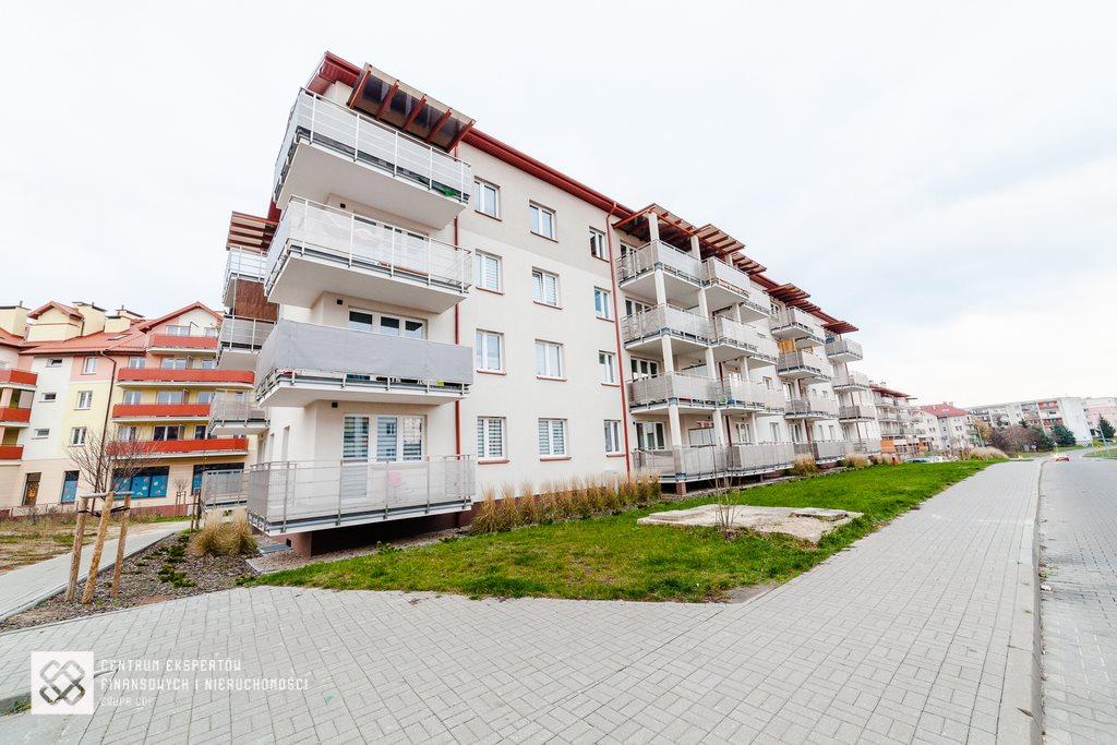 Mieszkanie trzypokojowe na sprzedaż Olsztyn, Jaroty, Stanisława Flisa  56m2 Foto 1