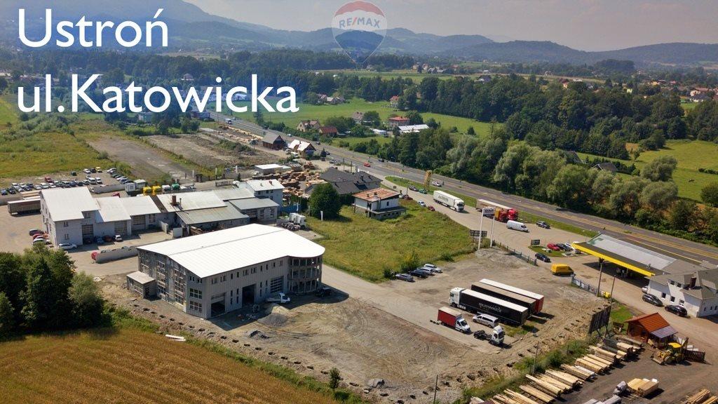 Działka przemysłowo-handlowa pod dzierżawę Ustroń  1800m2 Foto 1