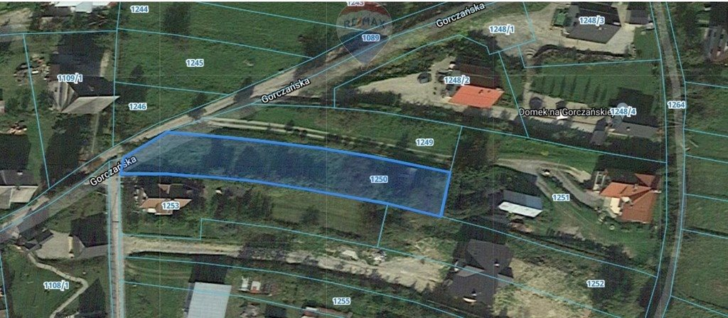 Działka budowlana na sprzedaż Rabka-Zdrój  1166m2 Foto 2