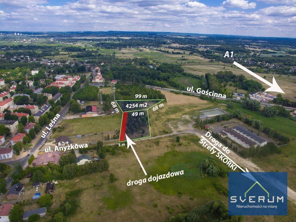 Działka przemysłowo-handlowa na sprzedaż Częstochowa, Dźbów, Anyżkowa  4254m2 Foto 2