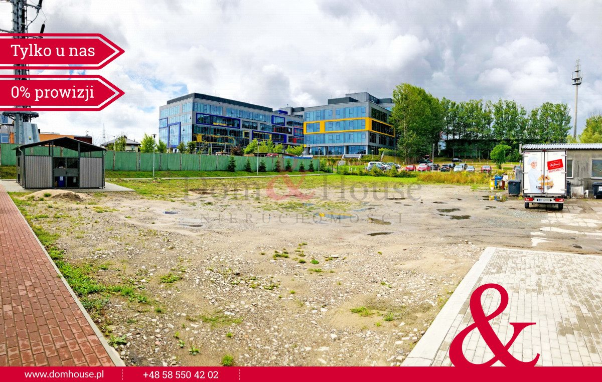 Działka przemysłowo-handlowa pod dzierżawę Gdańsk, Jasień, Orzechowa  1600m2 Foto 5