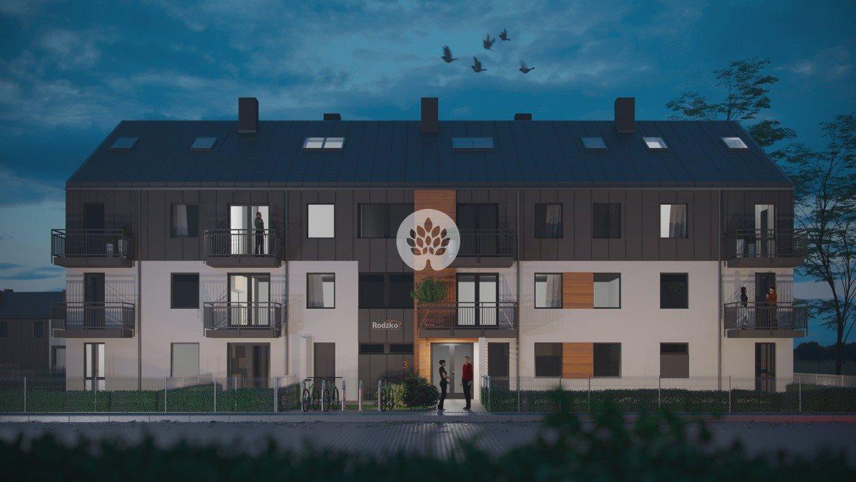 Mieszkanie czteropokojowe  na sprzedaż Niemcz, Olszynki  80m2 Foto 1