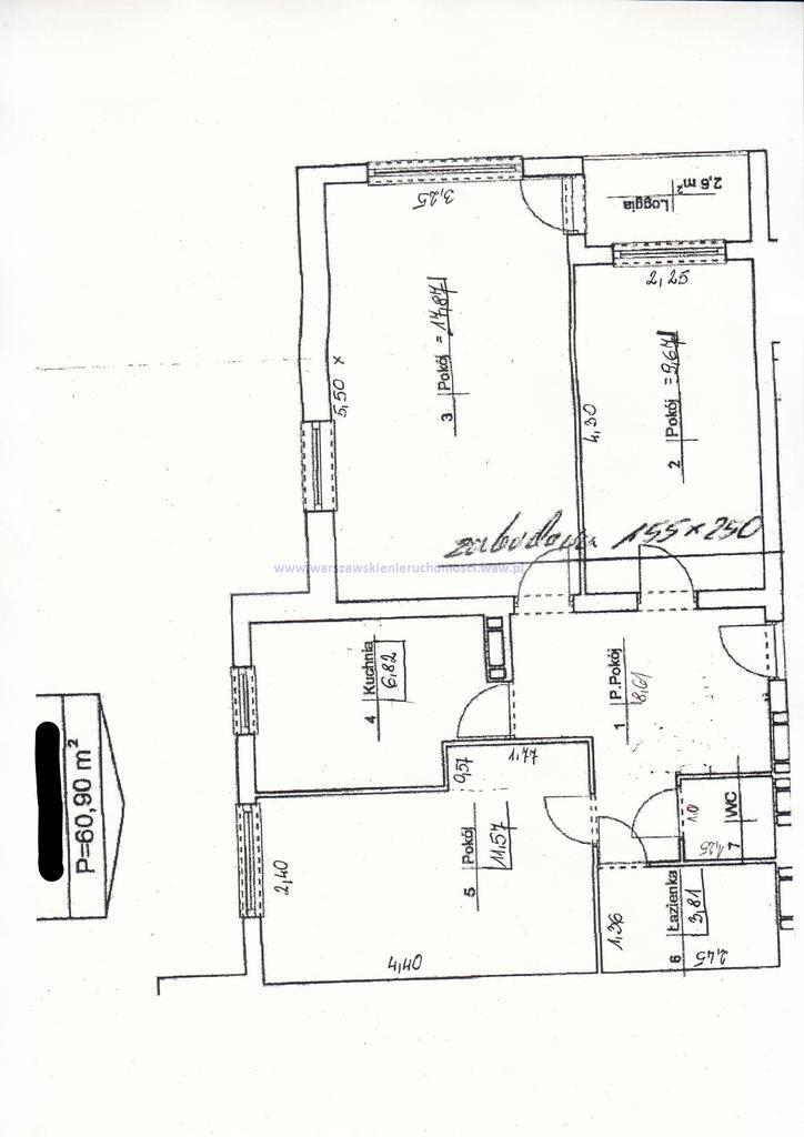 Mieszkanie trzypokojowe na sprzedaż Warszawa, Targówek, Prałatowska  61m2 Foto 4
