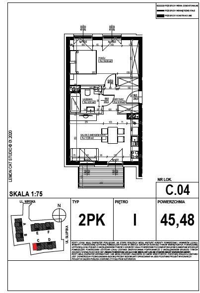 Mieszkanie dwupokojowe na sprzedaż Poznań, Smochowice  45m2 Foto 8