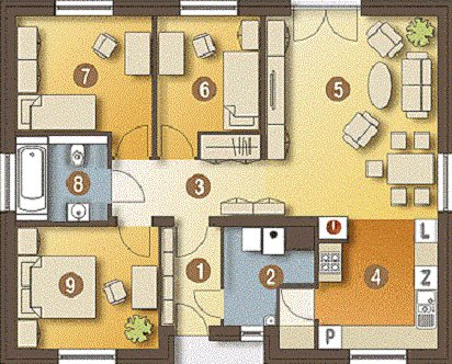 Dom na sprzedaż Krzyków, Główna  85m2 Foto 15