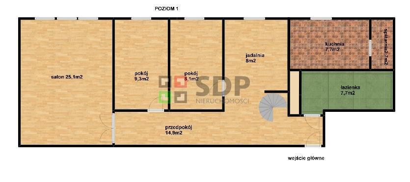 Mieszkanie na sprzedaż Wrocław, Krzyki, Krzyki, ok. Powstańców Śląskich  120m2 Foto 5