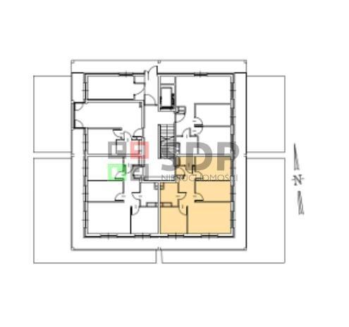Mieszkanie trzypokojowe na sprzedaż Wrocław, Fabryczna, Żerniki, Henricha Lauterbacha  62m2 Foto 4