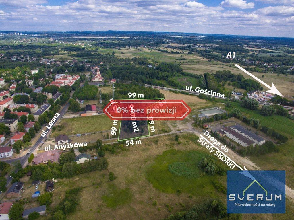 Działka przemysłowo-handlowa na sprzedaż Częstochowa, Dźbów, Anyżkowa  9600m2 Foto 1