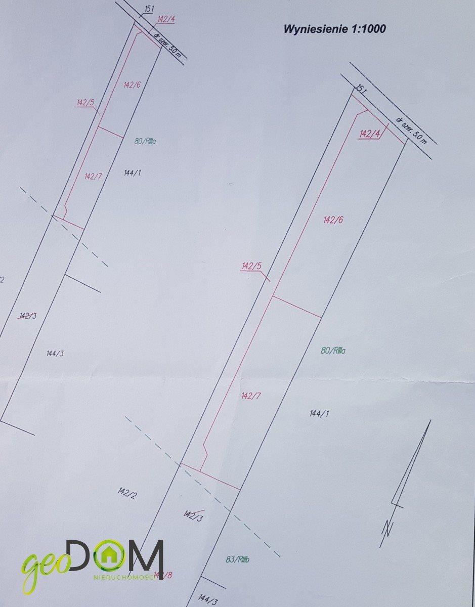 Działka budowlana na sprzedaż Wilczopole  1444m2 Foto 10