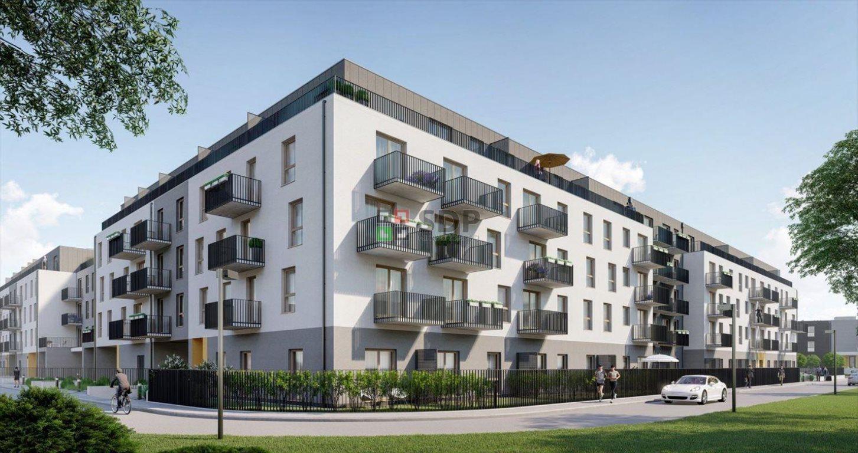 Mieszkanie czteropokojowe  na sprzedaż Wrocław, Krzyki, Jagodno, Buforowa  73m2 Foto 2