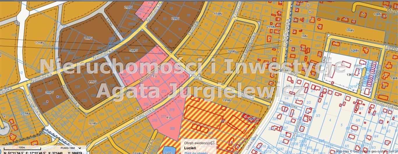 Działka komercyjna na sprzedaż Oleśnica  1151m2 Foto 1