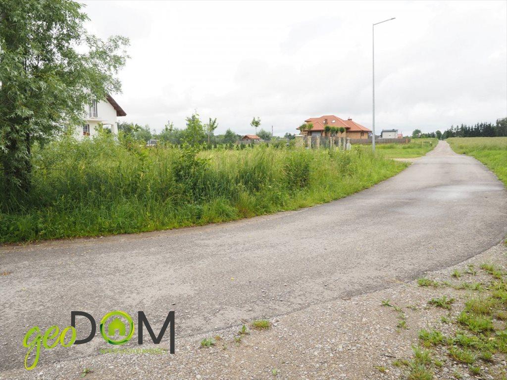 Działka budowlana na sprzedaż Okszów, Topolowa  1067m2 Foto 3