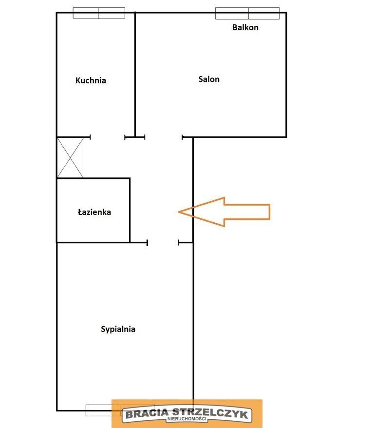 Mieszkanie dwupokojowe na sprzedaż Warszawa, Żoliborz, Stanisława Wyspiańskiego  50m2 Foto 9