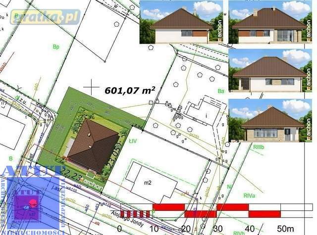 Działka budowlana na sprzedaż Gliwice, Centrum, jondy  600m2 Foto 1