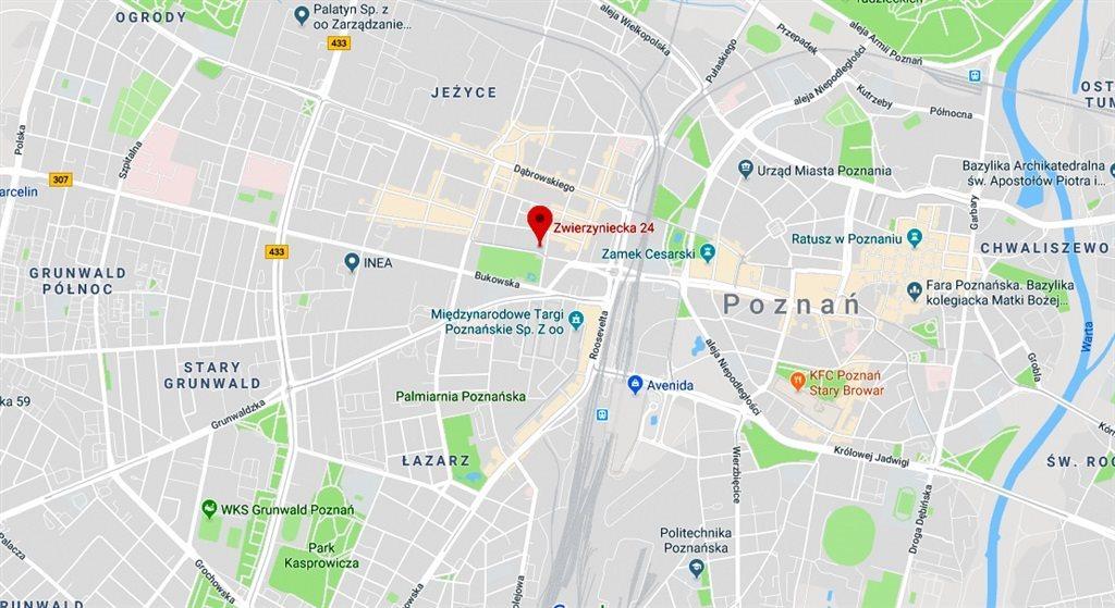 Kawalerka na wynajem Poznań, Centrum, Zwierzyniecka  26m2 Foto 11