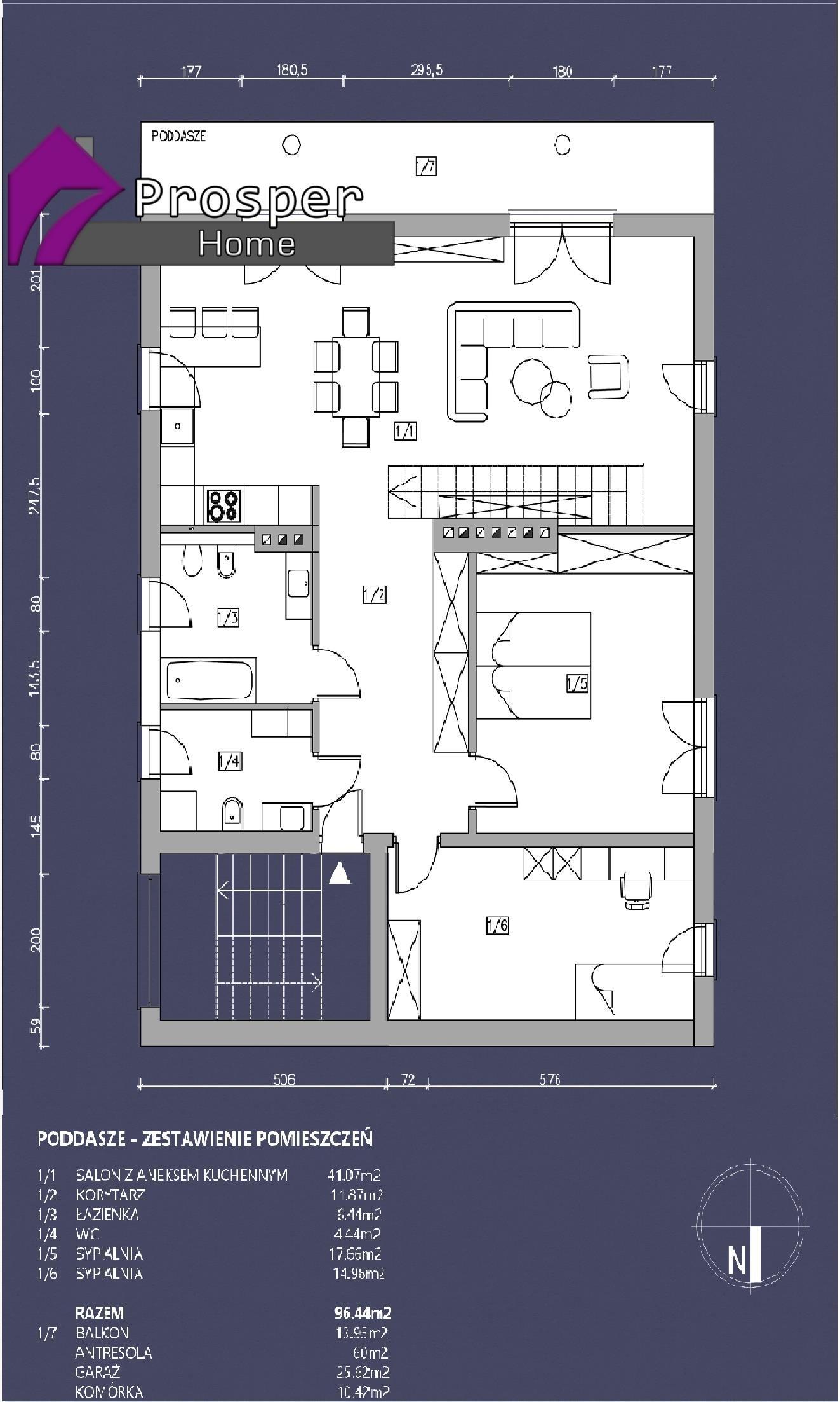 Mieszkanie trzypokojowe na sprzedaż Rzeszów, al. Miła  96m2 Foto 10