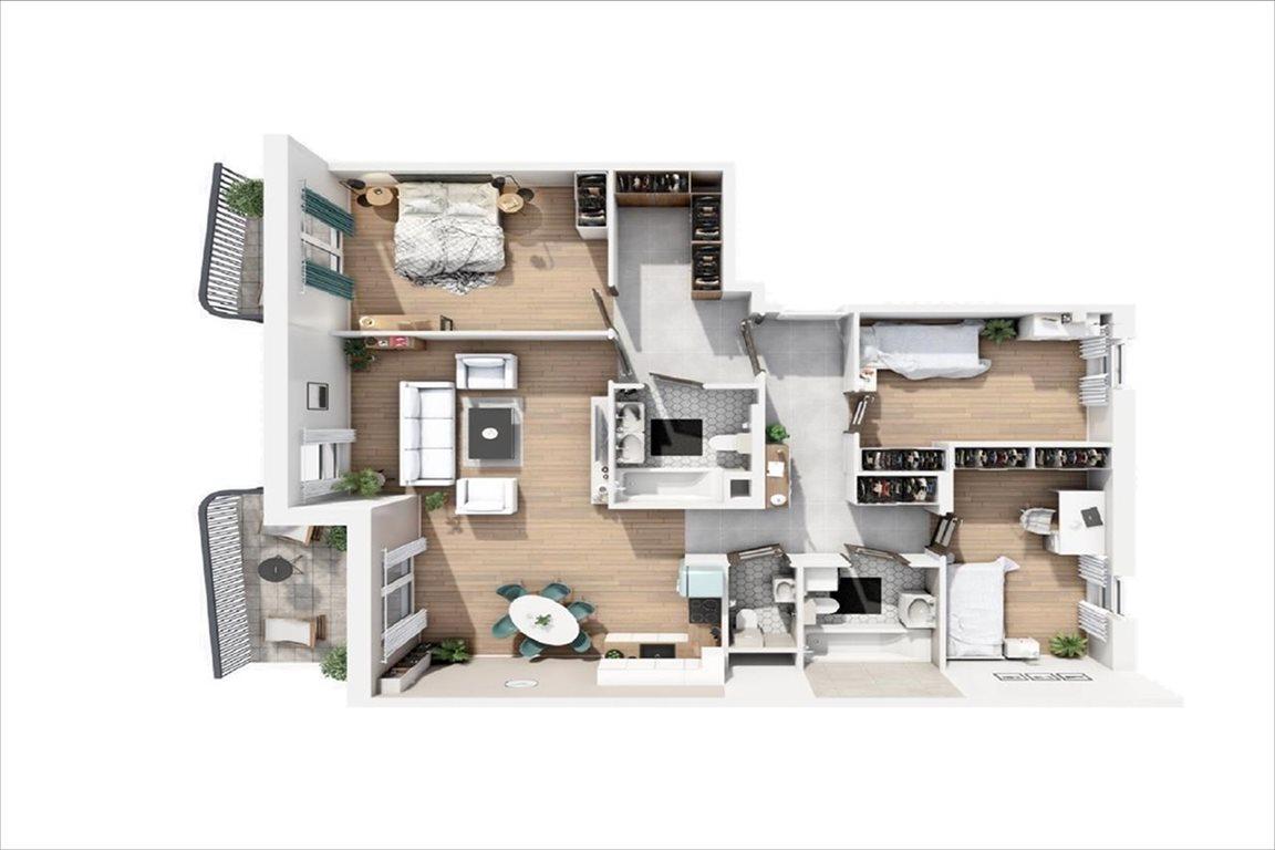 Mieszkanie czteropokojowe  na sprzedaż Warszawa, Bemowo, Batalionów Chłopskich  110m2 Foto 2