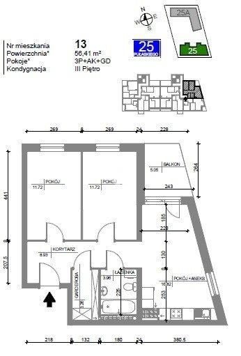 Mieszkanie trzypokojowe na sprzedaż Bydgoszcz, Bartodzieje Wielkie, Kazimierza Pułaskiego  57m2 Foto 7