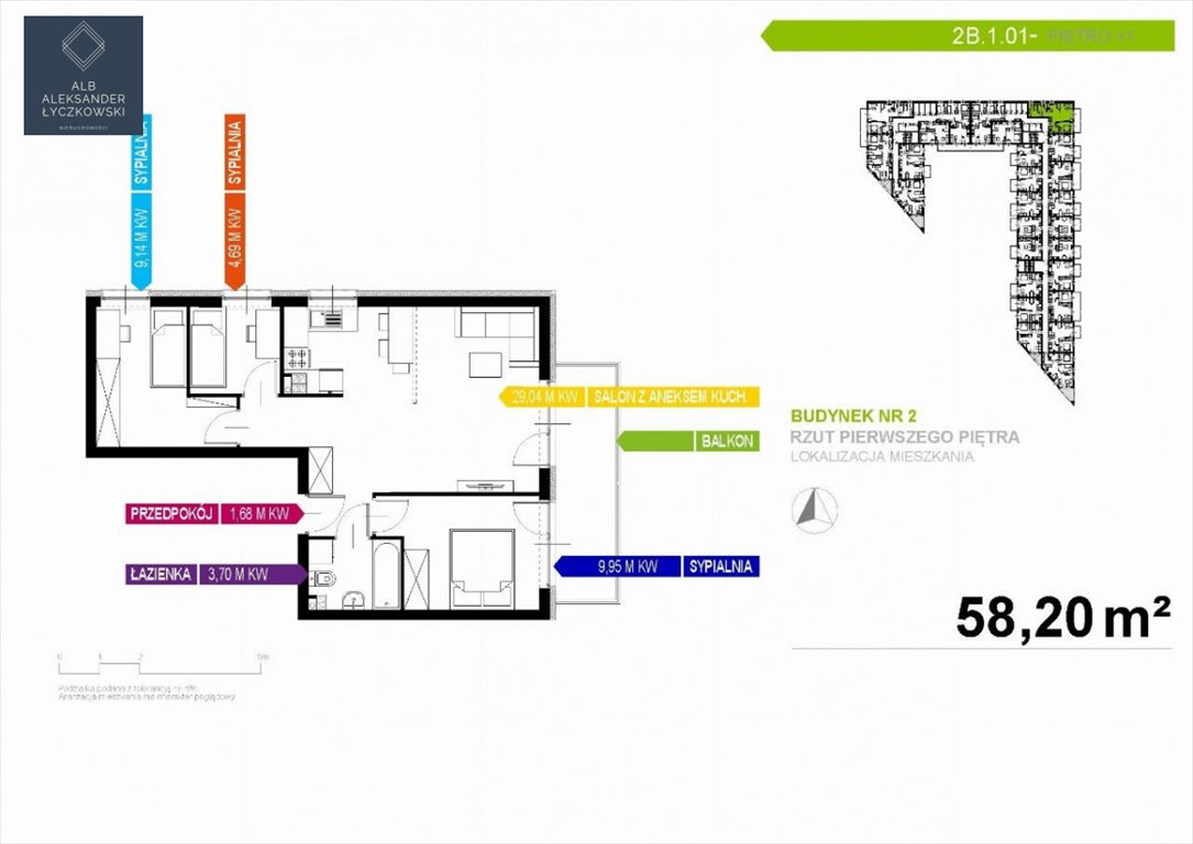 Mieszkanie czteropokojowe  na sprzedaż Gdynia, Oksywie  59m2 Foto 2