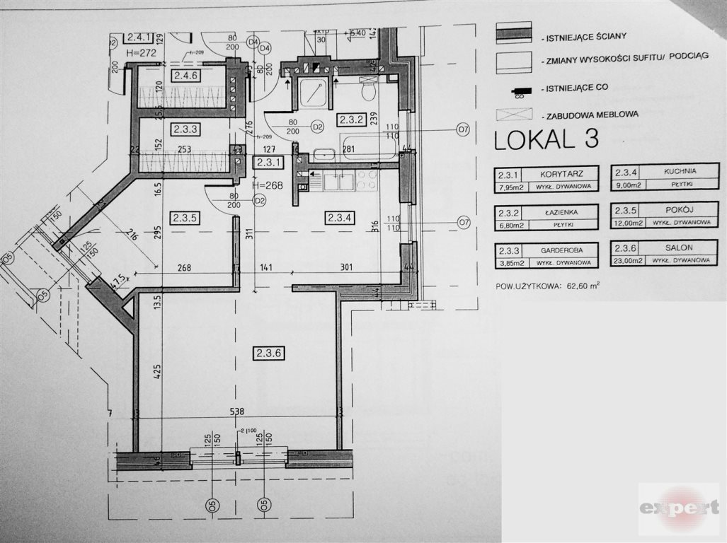 Mieszkanie dwupokojowe na sprzedaż Łódź, Bałuty, Arturówek  63m2 Foto 2
