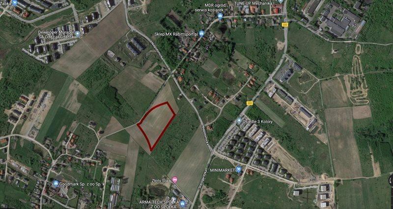 Działka budowlana na sprzedaż Gdańsk, Ujeścisko-Łostowice, Niepołomicka  21000m2 Foto 1