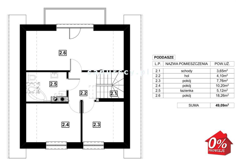 Dom na sprzedaż Zabierzów, Więckowice, Więckowice, Akacjowa - okolice  104m2 Foto 6