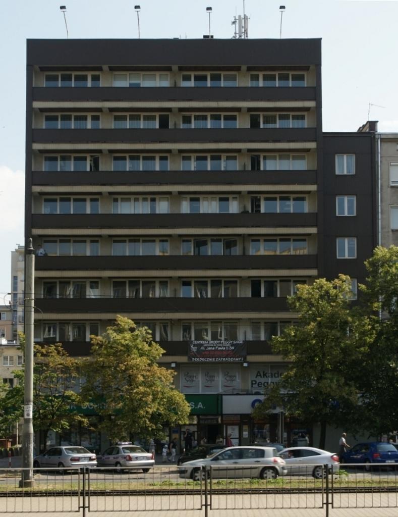 Lokal użytkowy na wynajem Warszawa, Śródmieście, aleja Jana Pawła II 34  155m2 Foto 1