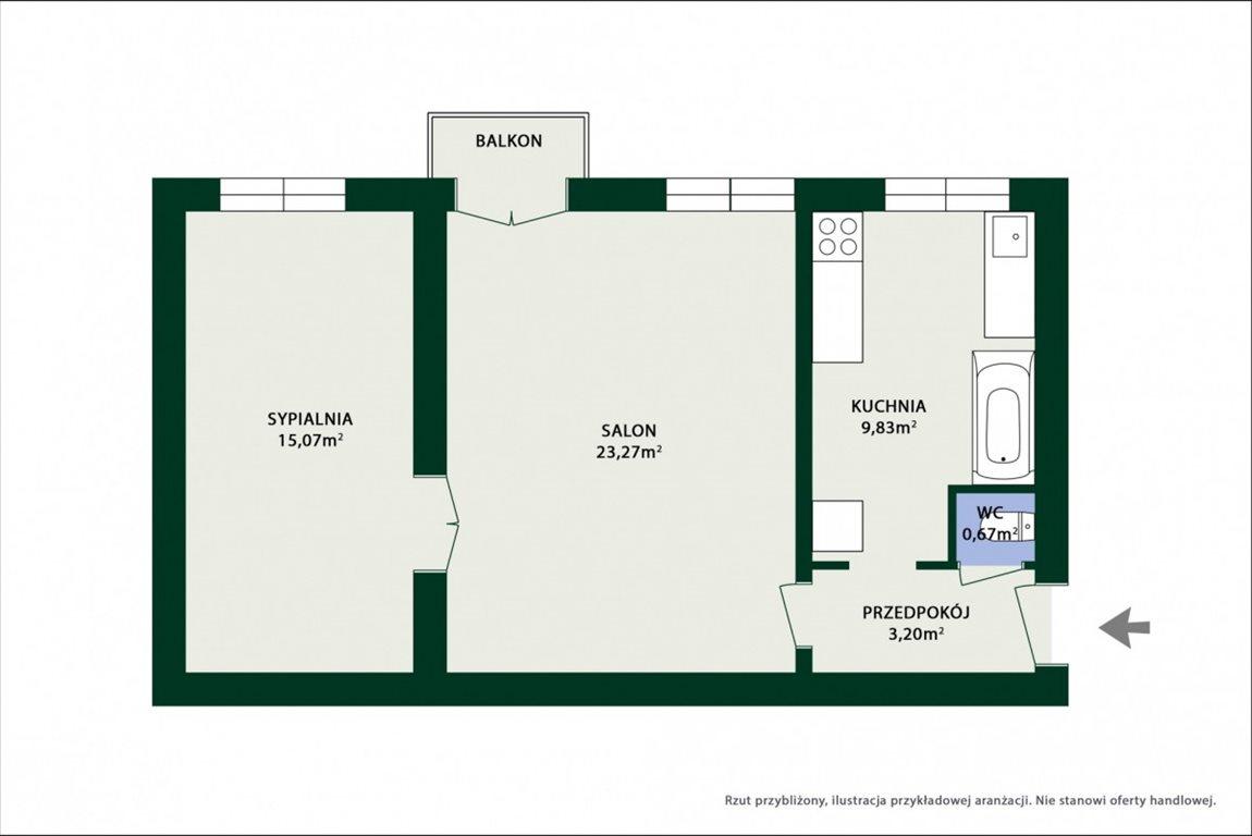 Mieszkanie dwupokojowe na sprzedaż Łódź, Śródmieście, Pomorska  51m2 Foto 2