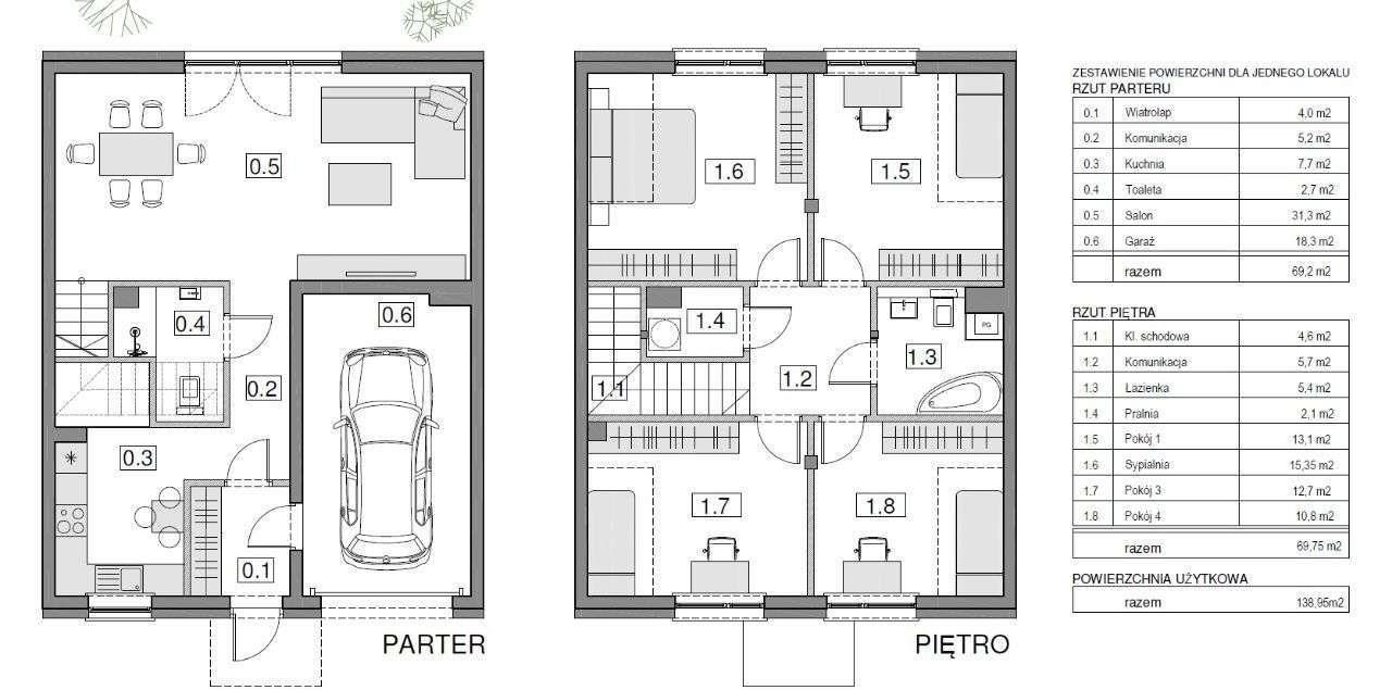 Dom na sprzedaż Sosnowiec, Sielec, sosnowiec  139m2 Foto 8