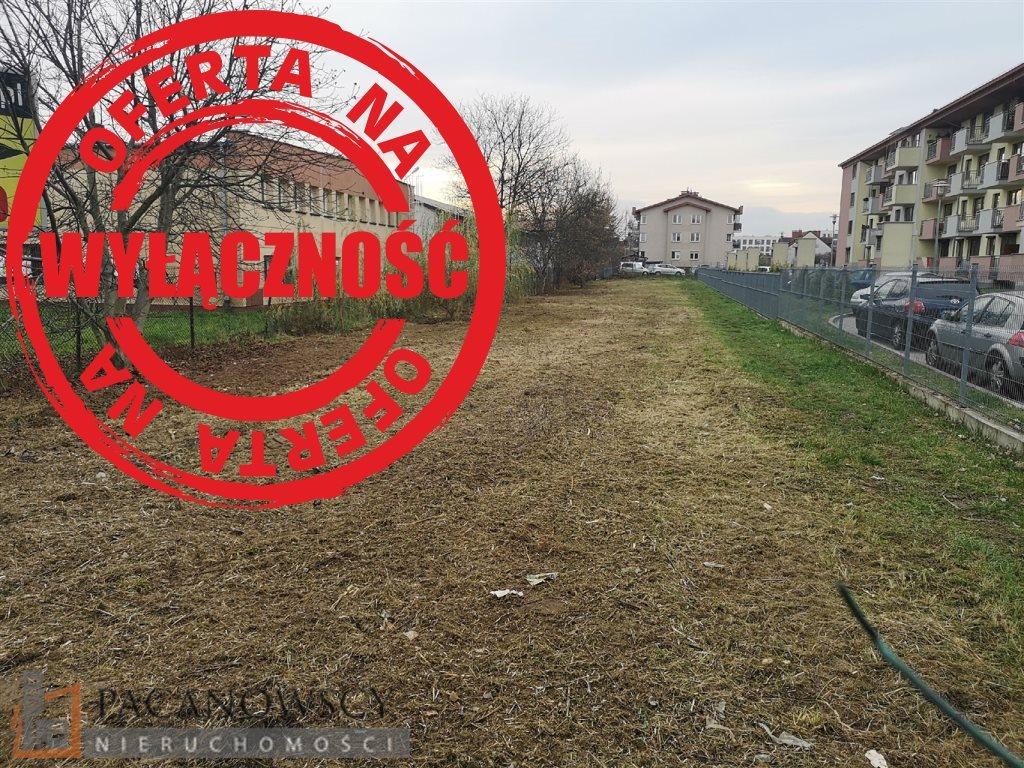 Działka budowlana na sprzedaż Kraków, Podgórze, Przewóz  1373m2 Foto 1