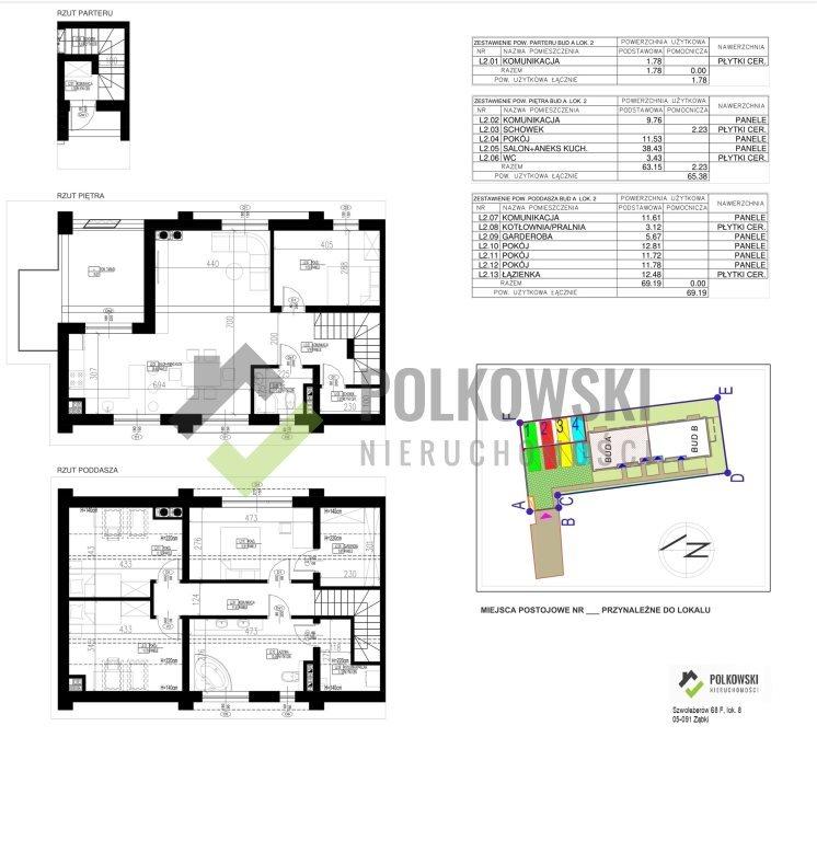 Mieszkanie na sprzedaż Ząbki  136m2 Foto 2