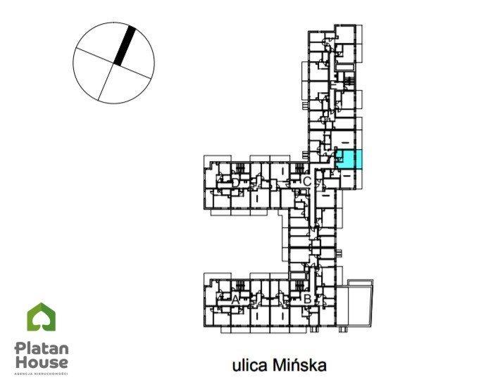 Mieszkanie dwupokojowe na sprzedaż Warszawa, Praga-Południe Kamionek, Mińska  28m2 Foto 3