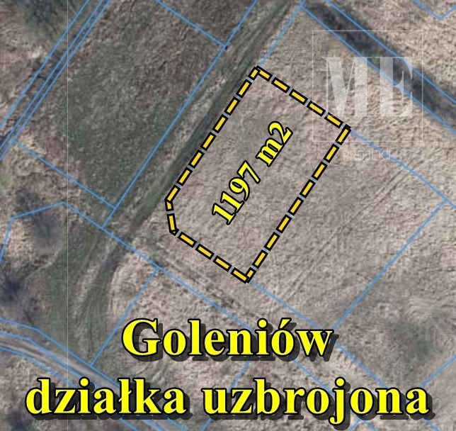 Działka budowlana na sprzedaż Goleniów  1197m2 Foto 1