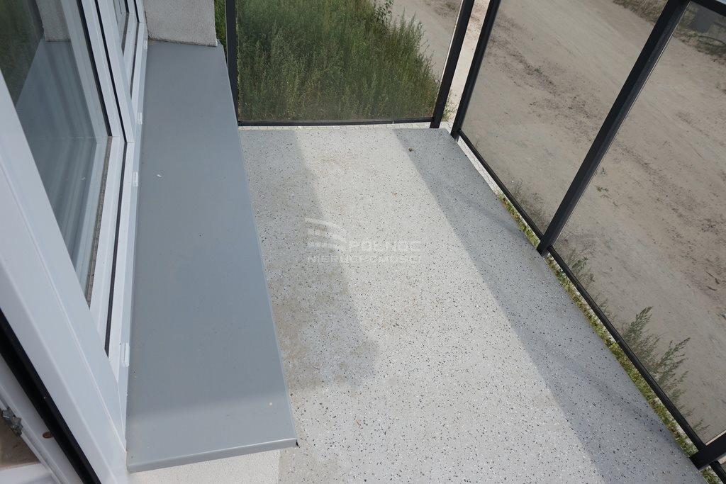Mieszkanie dwupokojowe na wynajem Pabianice, Nowe 2 pokoje, winda, balkon, miejsce postojowe  46m2 Foto 6