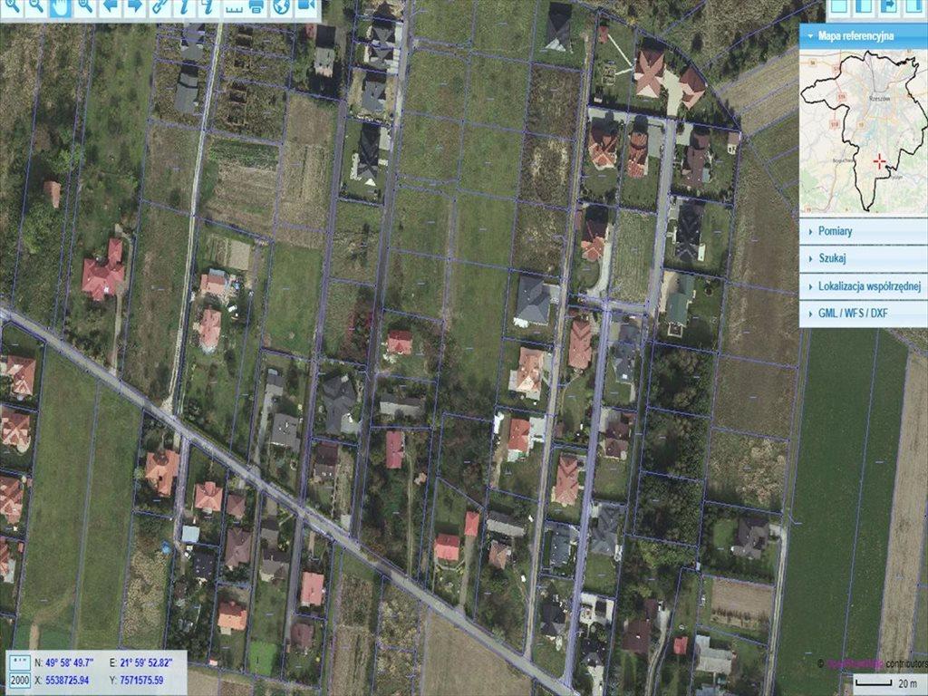 Działka budowlana na sprzedaż Rzeszów, Rzeszów  985m2 Foto 1