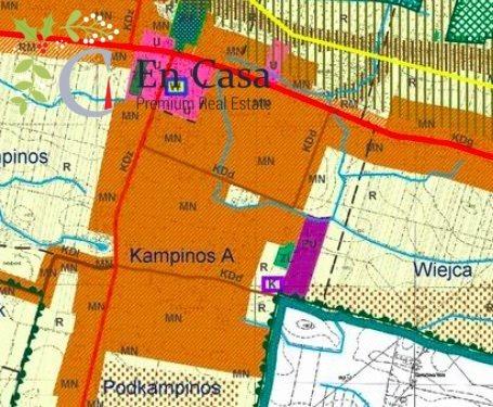 Działka budowlana na sprzedaż Kampinos  27900m2 Foto 1