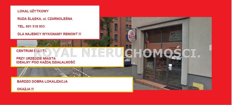 Lokal użytkowy na wynajem Ruda Śląska, Nowy Bytom  50m2 Foto 1