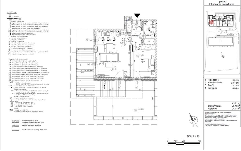 Mieszkanie dwupokojowe na sprzedaż Kielce, Baranówek  44m2 Foto 12