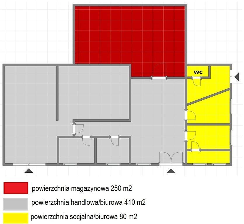 Lokal użytkowy na wynajem Rzeszów, al. Wyzwolenia  740m2 Foto 2