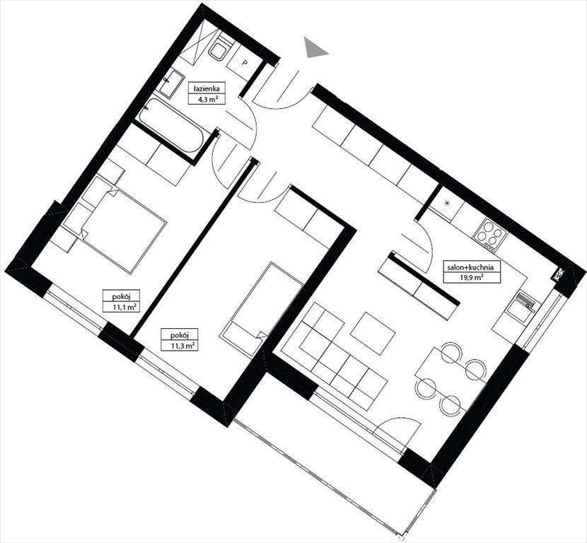 Mieszkanie trzypokojowe na sprzedaż Oleśnica, OLEŚNICA / WINDA / BALKON / PIWNICA  55m2 Foto 1