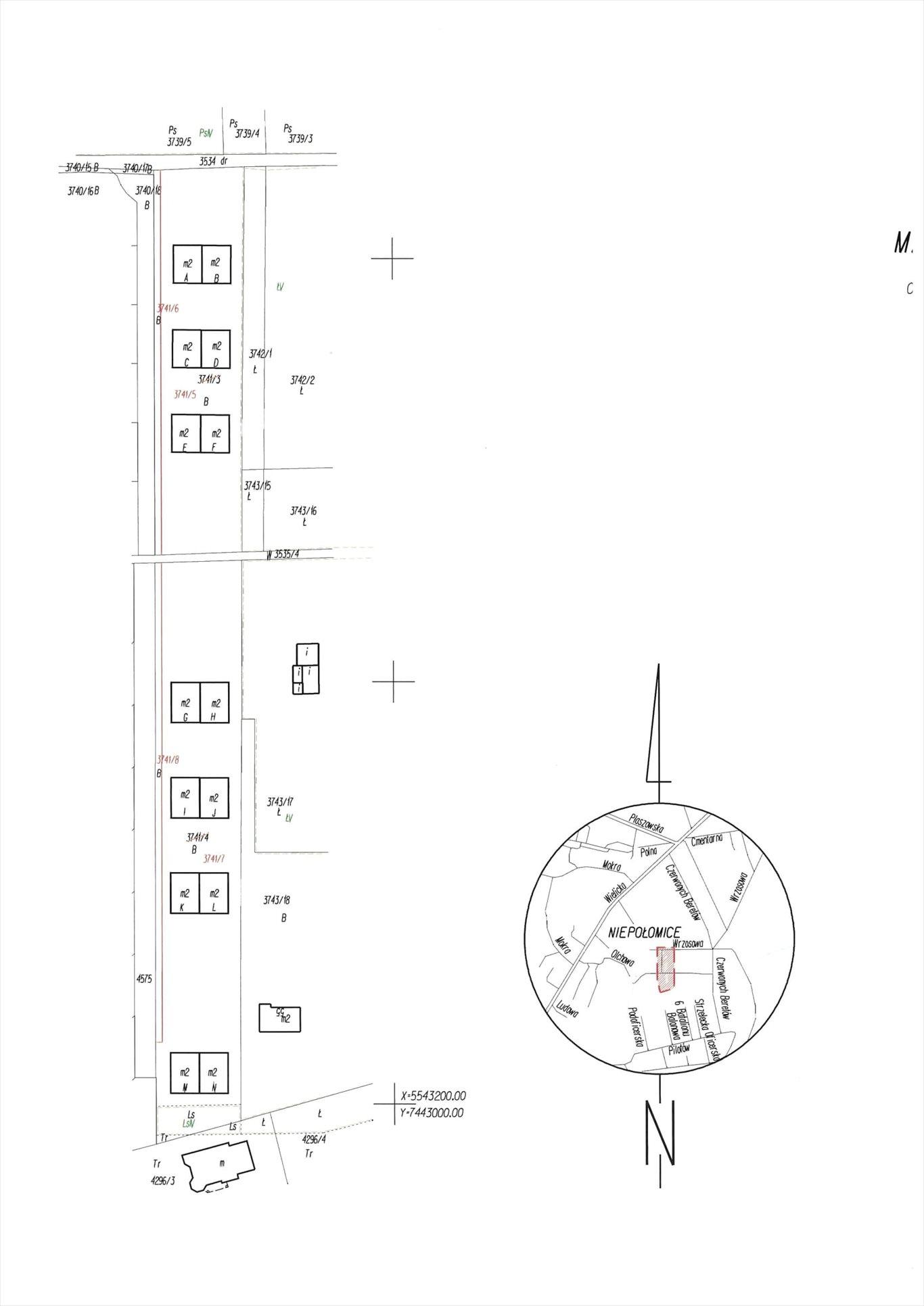 Mieszkanie trzypokojowe na sprzedaż Niepołomice, Wrzosowa  51m2 Foto 4