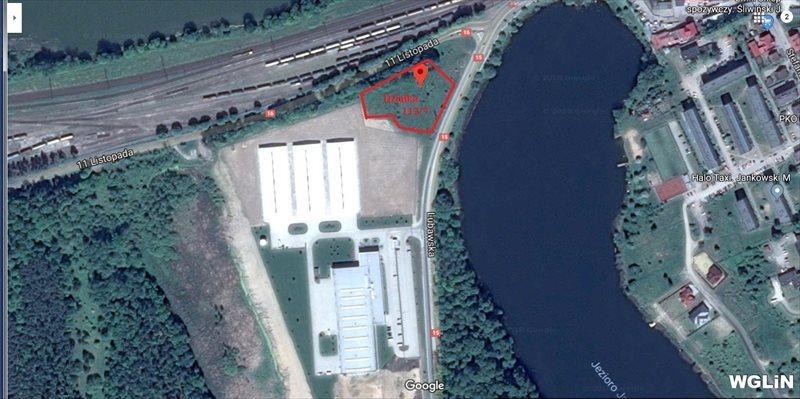Działka inwestycyjna na sprzedaż Ostróda, ul. 11 Listopada  4890m2 Foto 1