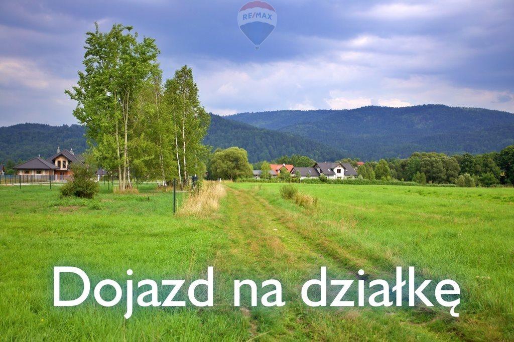 Działka budowlana na sprzedaż Jeleśnia  1700m2 Foto 1